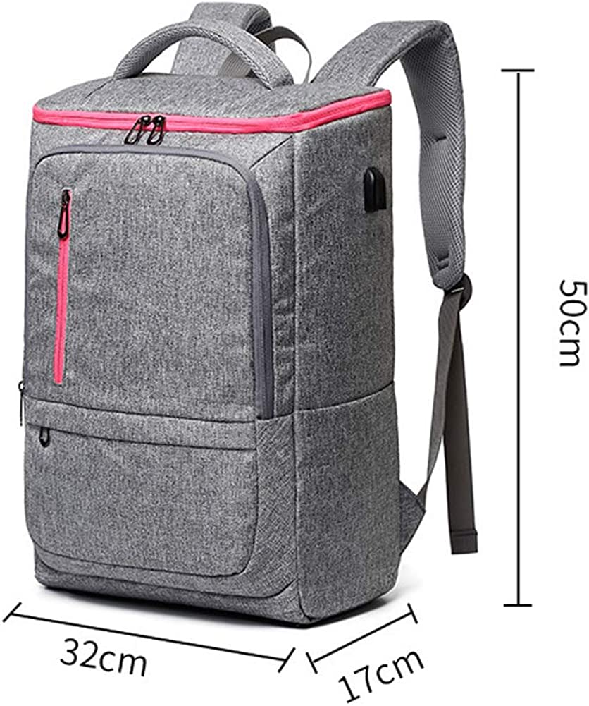 Student backpack computer bag waterproof Oxford cloth travel backpack 17 inch