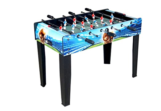 HLC 3ft Deluxe Indoor Outdoor Family Football Soccer Game Table With Legs  WorldCup Design
