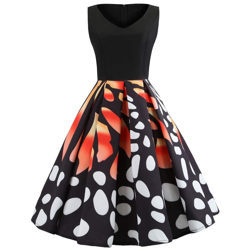 MEEYA Women's Dress & Skirt DRESS レディース Medium ブラック B07LB4MJ83