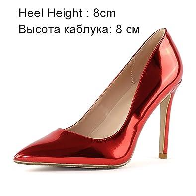 18cffa9c887 Amazon.com | Women Pumps High Heels Shoes Pointed Toe Sexy Wedding ...