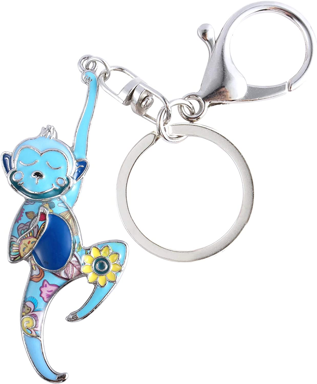 custom keychain circus monkey keychain Monkey keychain Acrylic keychain