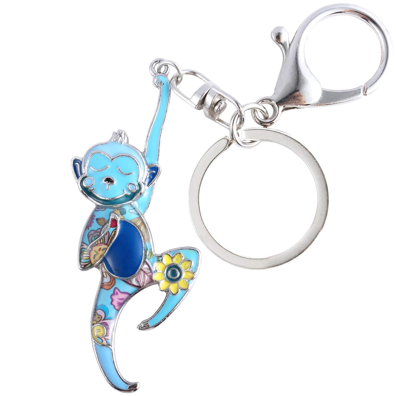Amazon.com: Luckeyui - Llavero con diseño de mono para mujer ...