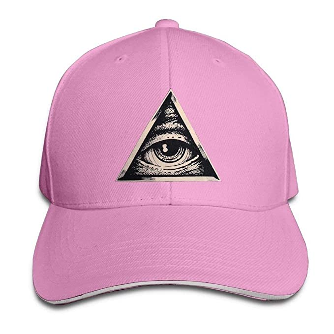 1c7fe47abbc Amazon.com  All Seeing Eye Classic 100% Cotton Hat Caps Unisex ...
