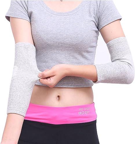 sportive Maniche da braccio a compressione per protezione solare per uomo e donna 1 paio.
