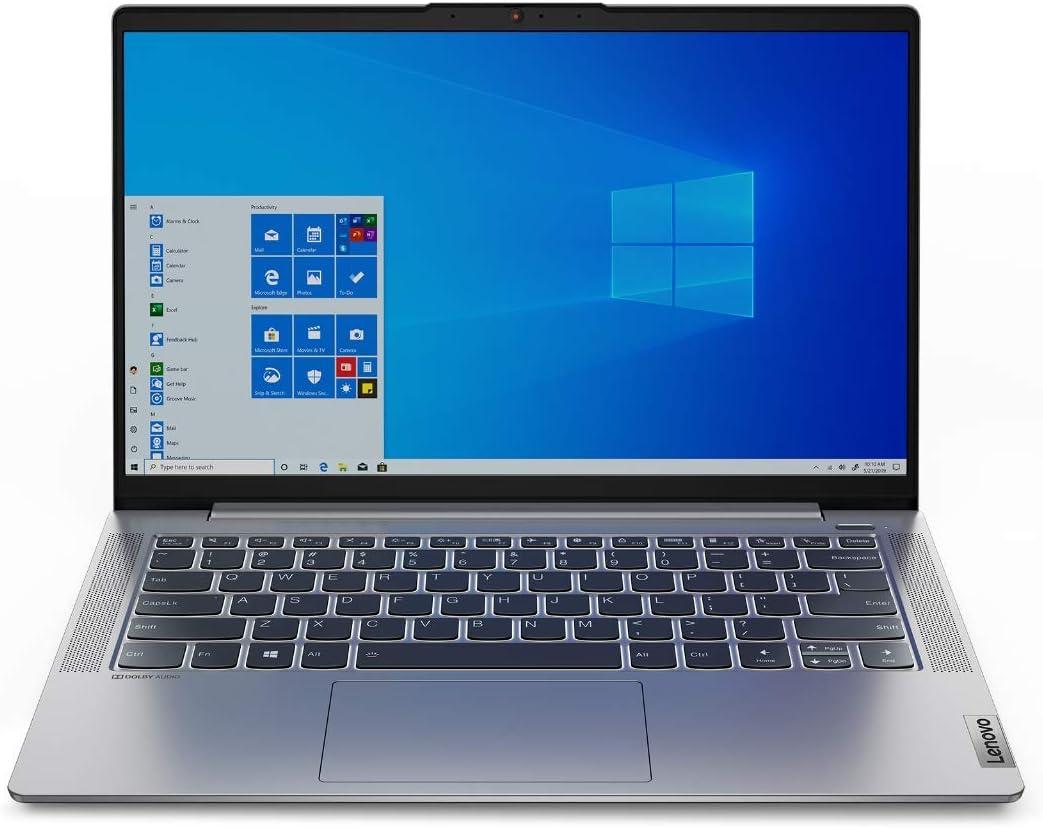 "Lenovo IdeaPad 5 14ARE05 Notebook, Display 14"" Full HD IPS, Processore AMD Ryzen 5 4500U, 256 GB SSD, RAM 8 GB, Windows 10, Platinum Grey"