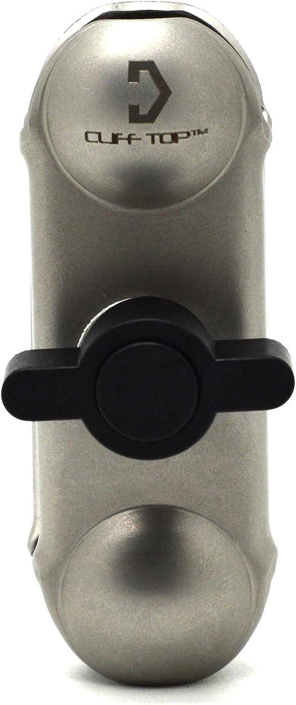 Supports de t/él/éphone 1 1//4 Ball Handlebar Mounting Base Silver