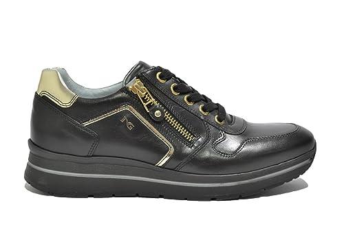 Mujer Negro Zapatillas Size 35 Nero Para Giardini qxRwnXtP