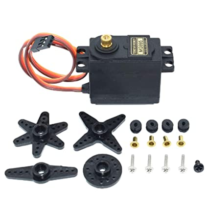 RC Servo MG995 Metal Gear High Speed Torque of Airplane Helicopter Car Boat*/_*