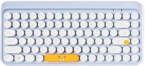 KAKAO FRIENDS Official- Little Friends Retro Mini Wireless Membrane Keyboard with USB Nano Receiver (Ryan)