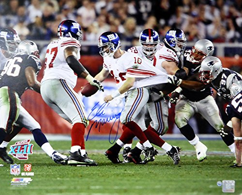 hed 16x20 Photo New York Giants SB Escape Steiner Holo Stock #113771 (Eli Manning Autographed 16x20 Photo)