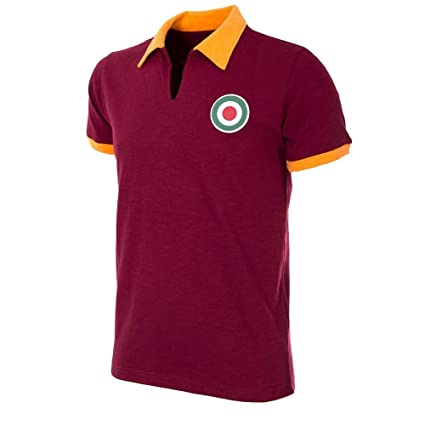 AS Roma Camisa de Fútbol Retro 1964-1965 (XXL)