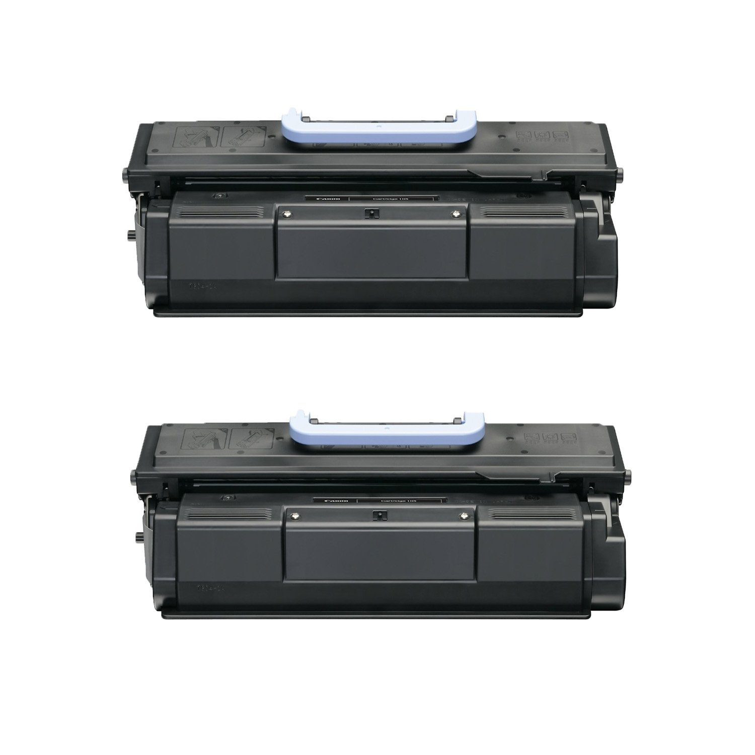 Office And Warehouse Supplies 2 Pack Canon 105 Remanufactured Toner Cartridge for Canon ImageClass D7280, Bubble Jet BJC 411F, Multi Function ImageClass MF7460 , Yield for 10000 pages - Black