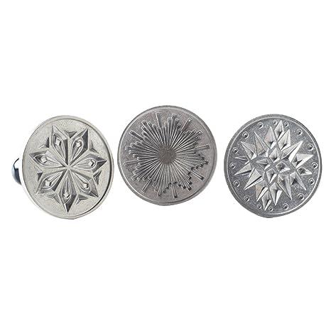 nordicware 1270 moldes para galletas Starry Night, Aluminio