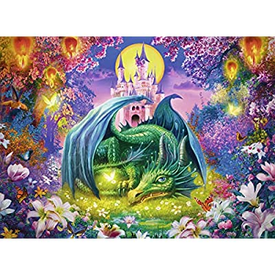 Ravensburger 13258 Forest Dragon, 300 Piece Puzzle for Kids, Every Piece is Unique, Pieces Fit Together Perfectly, Multicolor, 19.5