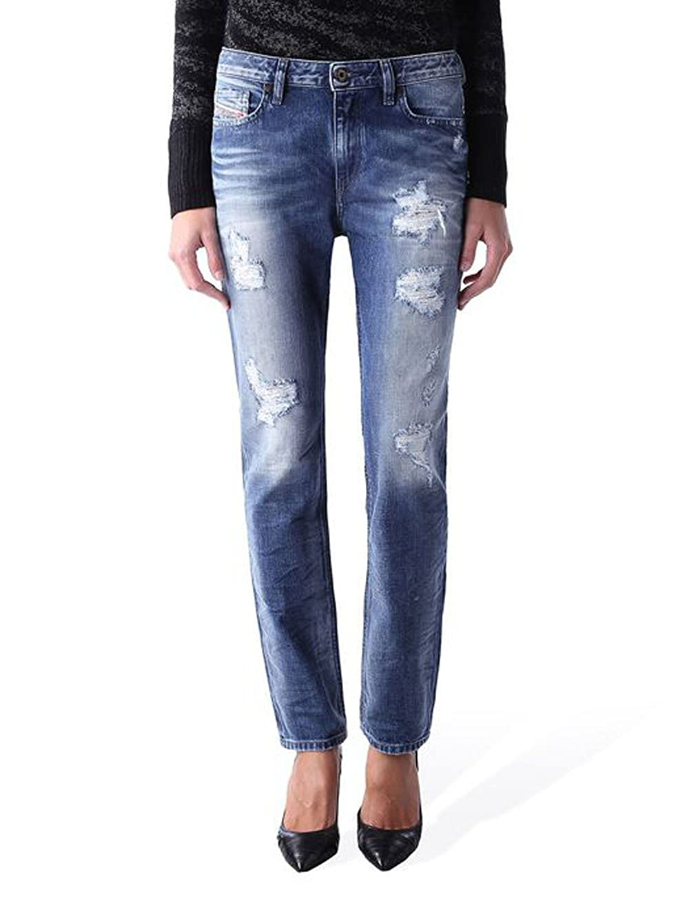 Diesel - Jeans/Vaquero para Mujer Rizzo 848I - Regular Slim Straight