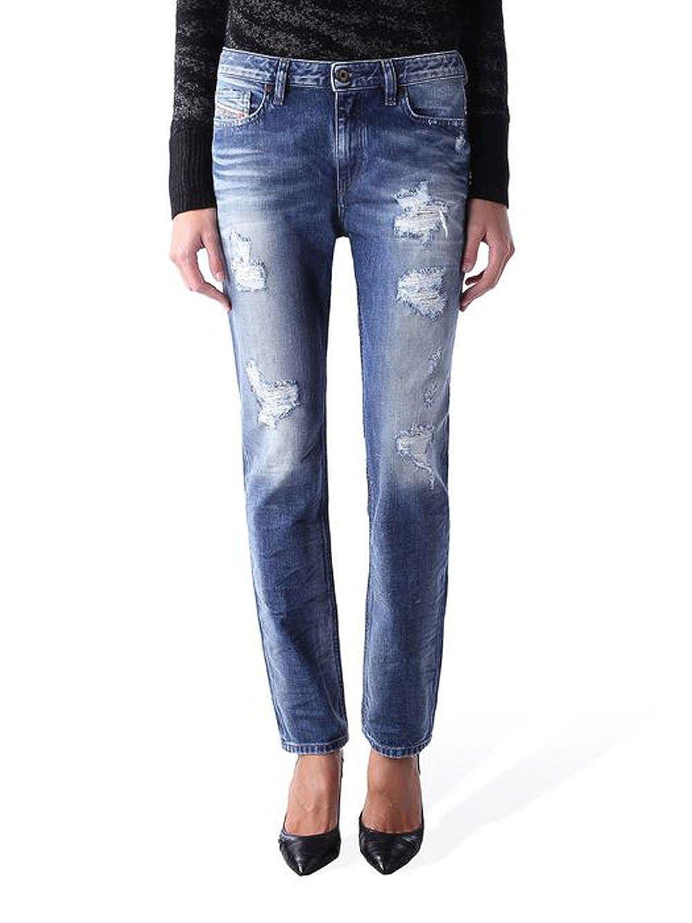 TALLA W23 / L32. Diesel - Jeans/Vaquero para Mujer Rizzo 848I - Regular Slim Straight