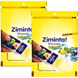 Ziminta Sugar Free Mint Mouth Freshener Easily Soluble Digestive Dispensable Strip - 30 Strips (Lemon Flavour) - Pack of 2