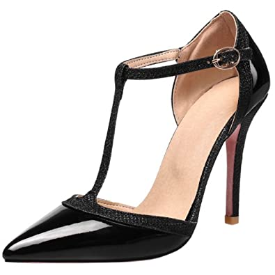 Melady Damen Moda Sandalen Stiletto Heels
