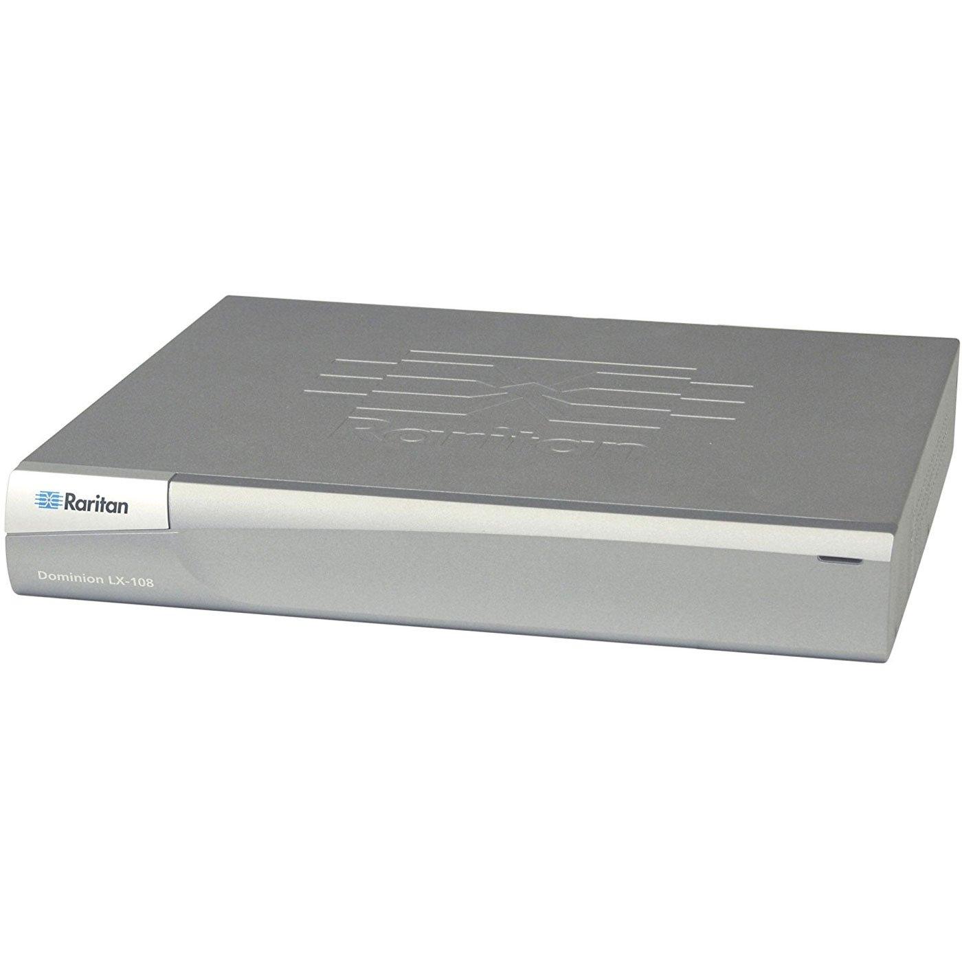 Raritan Dominion LX-108 - KVM switch - 8 ports - Rack-mountable (DLX-108)