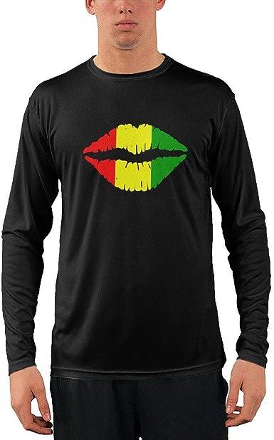 Camiseta clásica de Manga Larga para Hombre, Reggae Rasta ...