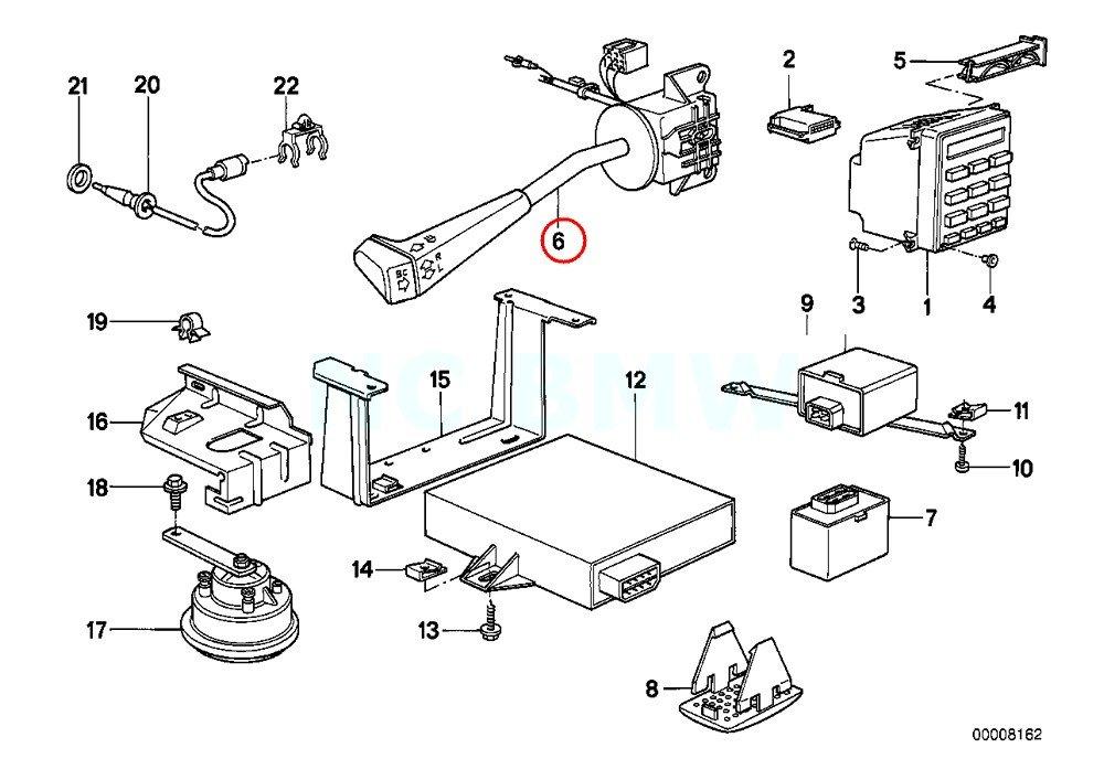 BMW Genuine Dip-Dim Control Switch Turn Signal