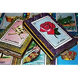 Mexican Loteria Matchbox Wedding Candy Favors - Set of 50