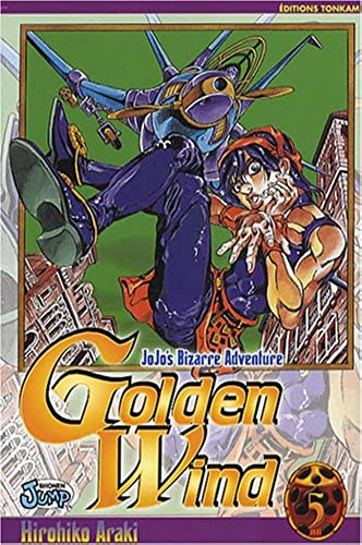 Jojo's bizarre adventure   Golden Wind Vol.5
