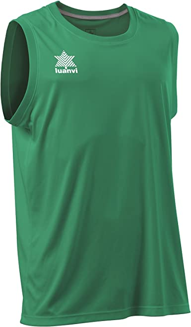 Luanvi Basket Pol - Camiseta Deportiva sin Mangas Hombre: Amazon ...