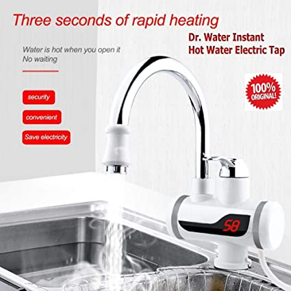 Dr Water Abs Electric Tap Faucet Dr Water For Instant Quick Water