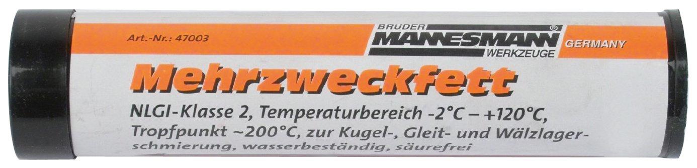 Mannesmann Ersatzkartusche Mehrzweckfett 120 ccm, M47003 Brüder Mannesmann