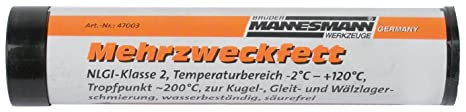 Mannesmann Ersatzkartusche Mehrzweckfett 120 ccm, M47003