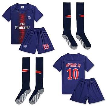PLYY Uniforme de fútbol para niños Manga Corta para niños ...