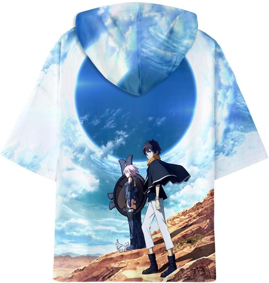 TJJF T-Shirt Hoodie R Print T-Shirt Fremde Dinge Männer O Hals Männer Spleiß T-Shirt Sommer Cool Harajuku XL