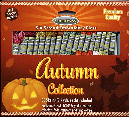 Sullivans 36 Skeins Emb Floss Pack Autumn