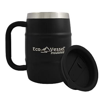 Amazon.com: EcoVessel Taza de café y vaso cervecero ...