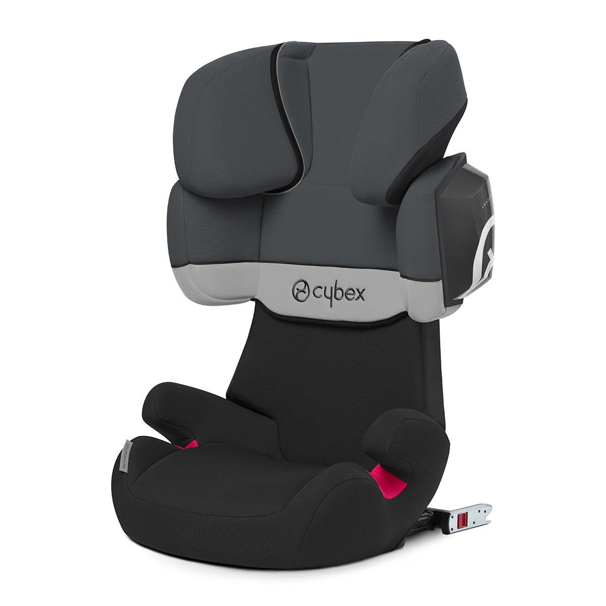 Cybex Silver - Silla de coche para niños solution x2-fix, para coches con y sin isofix, grupo 2/3 (15-36 kg), desde los 3 hasta los 12 años aprox