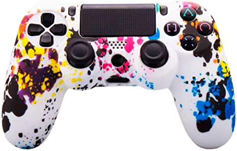 OcioDual Funda de Silicona Carcasa para Mando Sony PS4 PlayStation ...