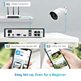 PoE IP Security System, 4MP NVR with 4pcs Outdoor