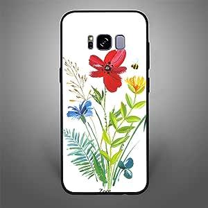 Samsung Galaxy S8 Flower Bee, Zoot Designer Phone Covers