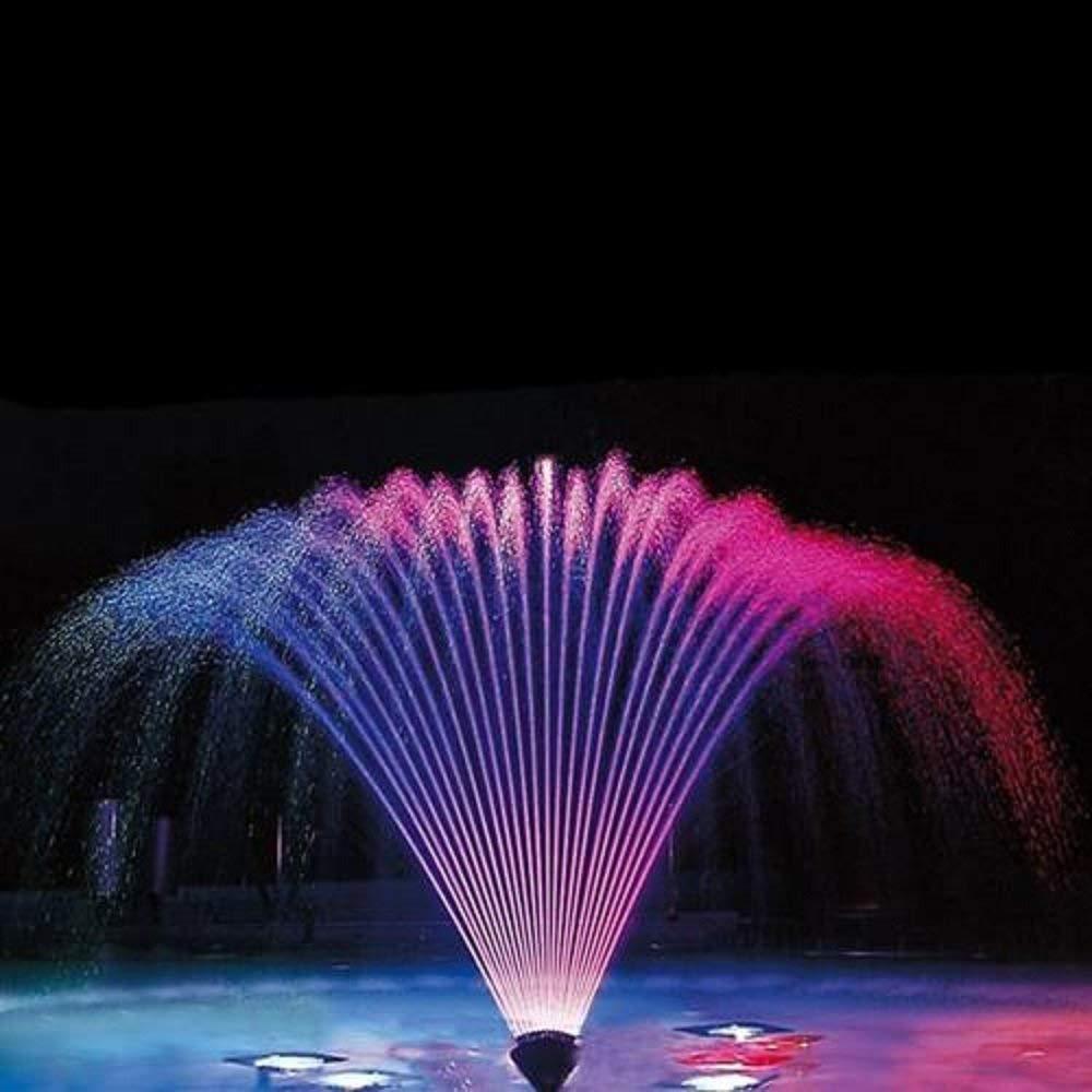 SODIAL Brass Blossom Fountain Nozzle Pool Pond Spray Head (1 Dn25)
