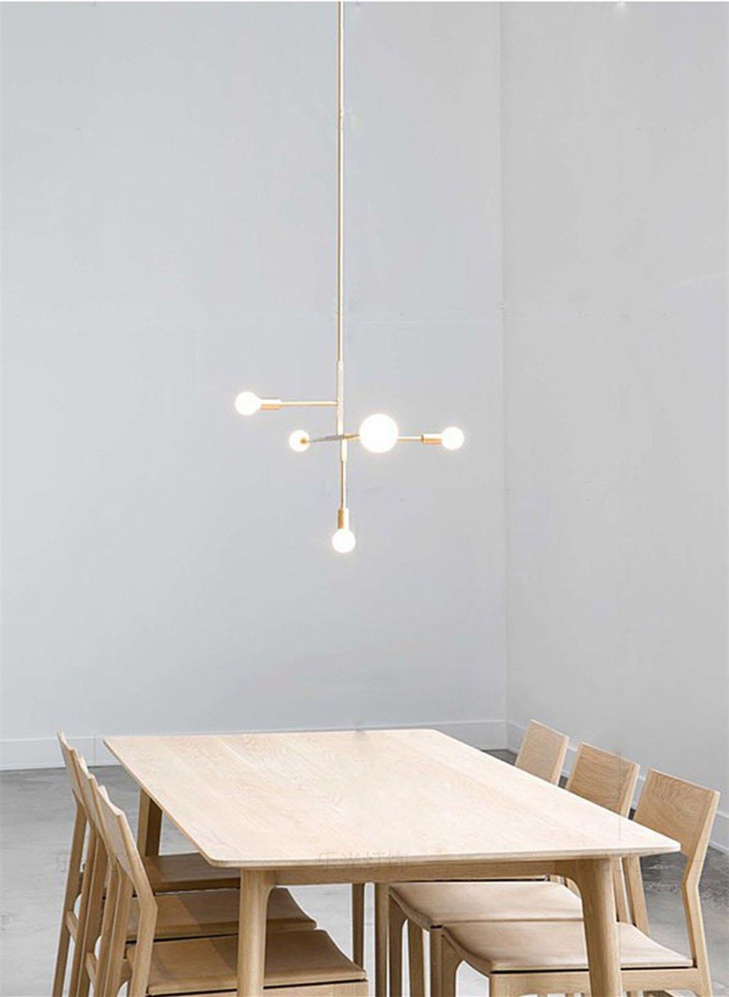 Moderne Metall Anhänger Beleuchtung Hängeleuchte Decke Kronleuchter ...