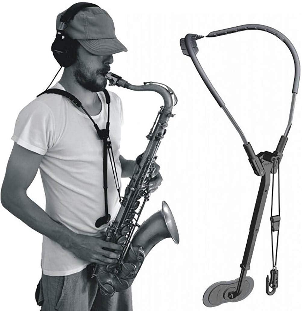 Peiyu Arnés para saxofón Correa Ajustable Sistema de Soporte de ...