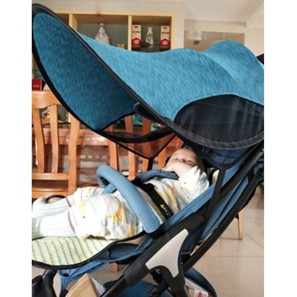 Eternitry Silla de Paseo Mejorada Sombrilla Universal Sillón Parasol Cubierta de protección Solar Accesorios para bebés Cochecitos Protector ...