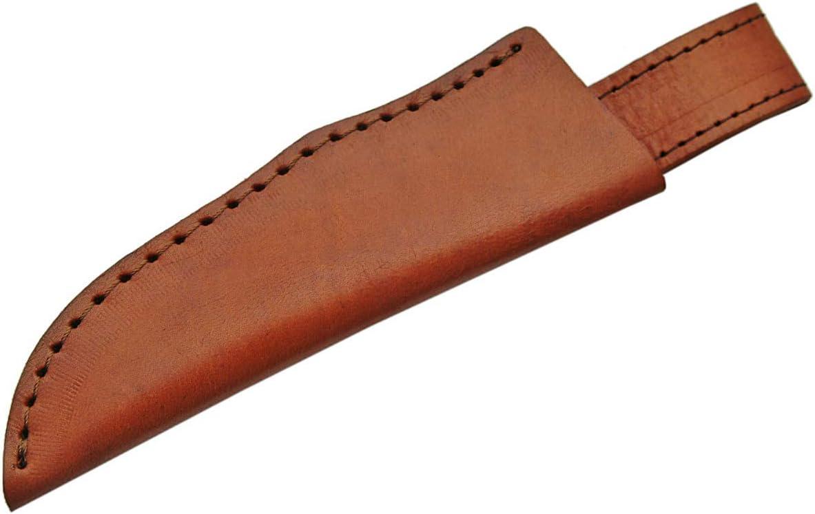 SZCO Supplies Damascus Skinner Knife