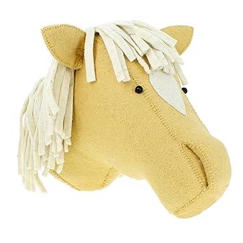 Gazechimp 1x Pferd Form Wand Maske Wohnzimmer Tür Dekor Tier Thema Party Dekor  Zubehör