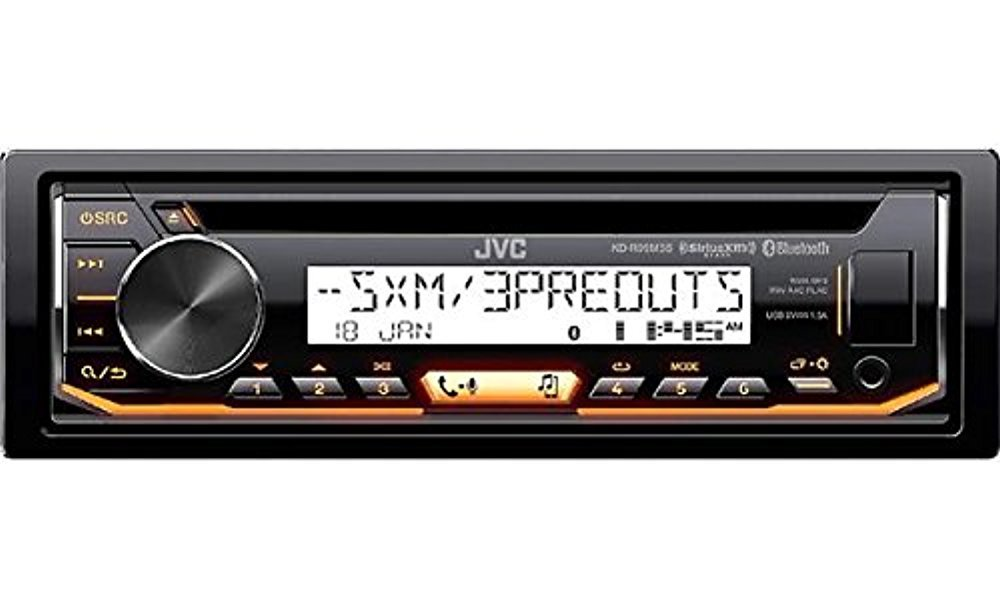 JVC Marine Stereo Receiver Bundle Kit with Remote Control Black Enrock 50 ft Speaker Wire Enrock Wire Antenna 6 Enrock 6.5 Marine Speakers Pyle 4 Ch 400w Waterproof Amplifier