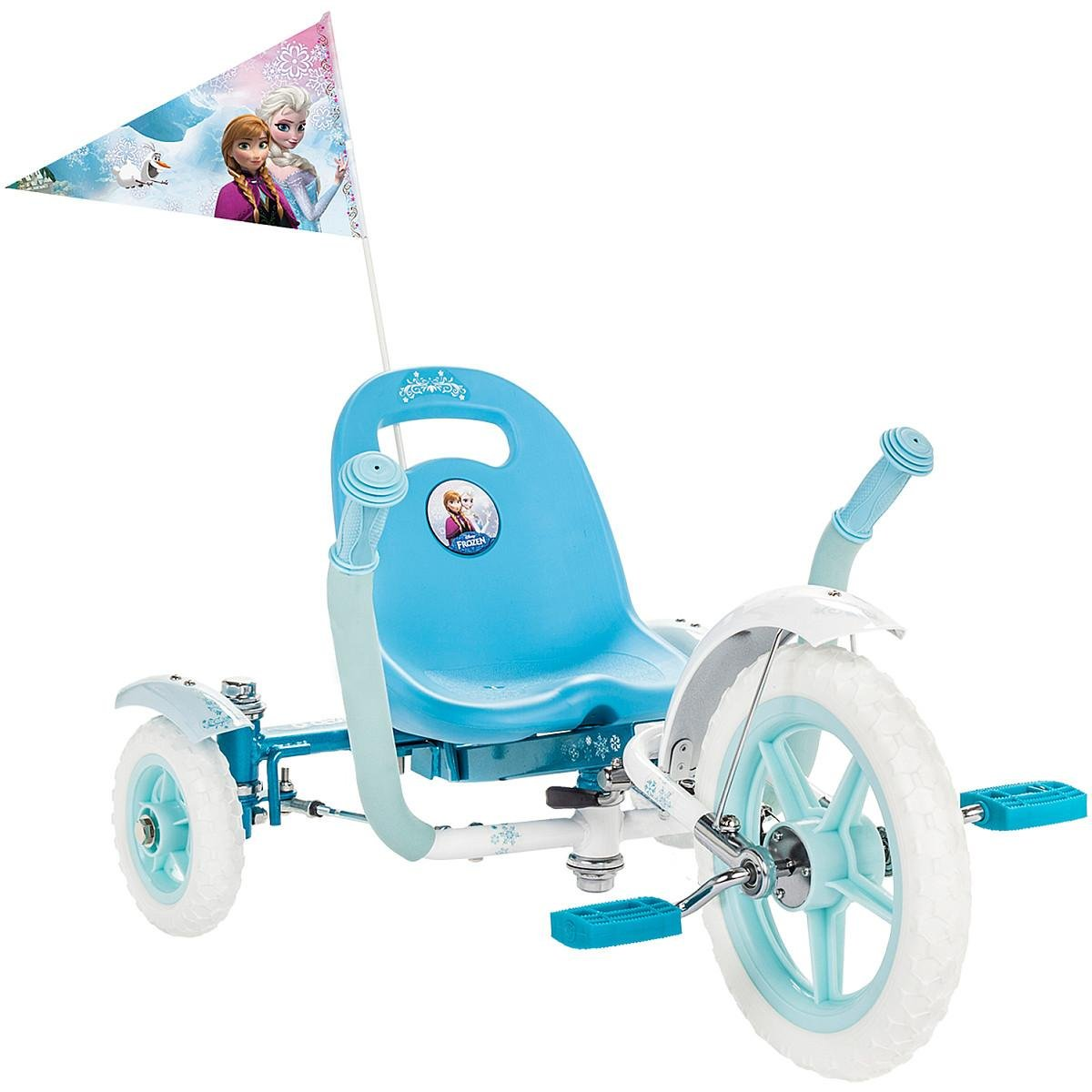 Mobo Tot Disney Frozen: A Toddler's Ergonomic Three Wheeled Cruiser Ride On, Blue