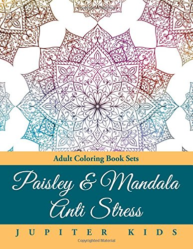 Paisley Mandala Anti Stress Coloring