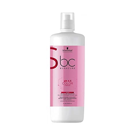 Schwarzkopf Professional BC COLOR FREEZE Champú para cabello teñido 1000 ml