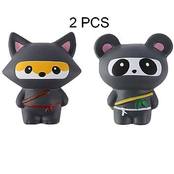 Amazon.com: Anboor 2 piezas de escuadrones Ninja Jumbo Panda ...